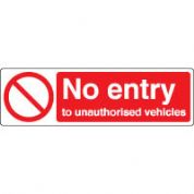Prohibition safety sign - No Entry 071
